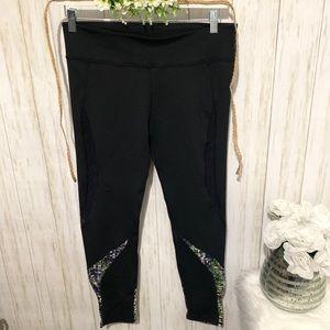 Fabletic Mesh black leggings size Large